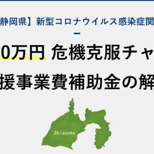 【補助上限200万円】静岡県の中小企業等危機克服チャレンジ支援事業費補助金について解説
